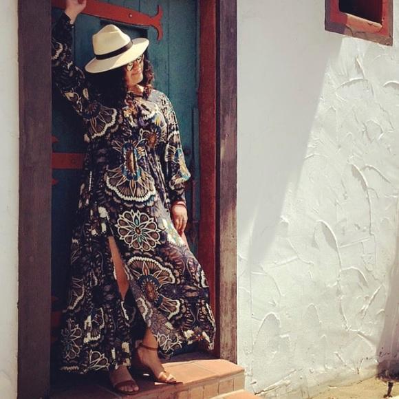 H&M Dresses & Skirts - Boho Maxi Dress with 2 thigh high splits | H & M